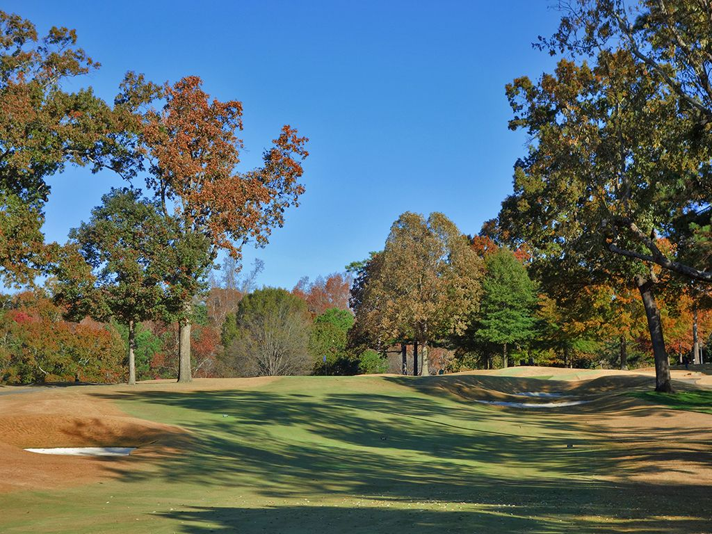 2nd Hole at Country Club of Birmingham (West) (469 Yard Par 4)