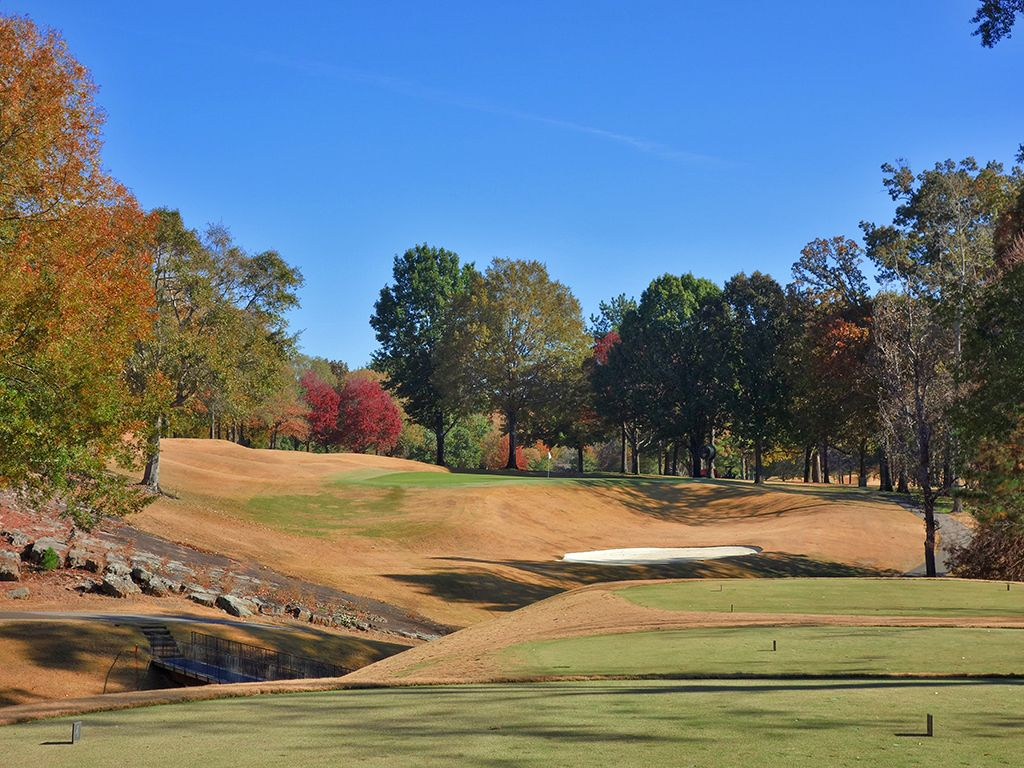8th Hole at Country Club of Birmingham (West) (189 Yard Par 3)