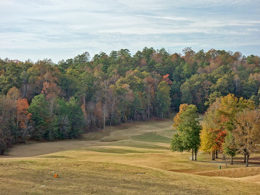 1st (Canyon) Hole at Robert Trent Jones Golf Trail at Cambrian Ridge (Canyon/Sherling) (501 Yard Par 4)