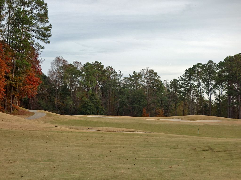 7th (Canyon) Hole at Robert Trent Jones Golf Trail at Cambrian Ridge (Canyon/Sherling) (522 Yard Par 5)
