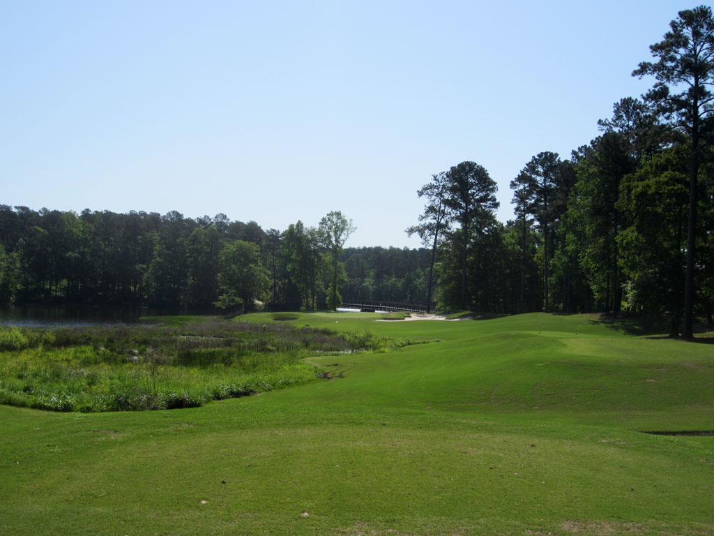 3rd Hole at Robert Trent Jones Trail at Grand National (Links) (206 Yard Par 3)
