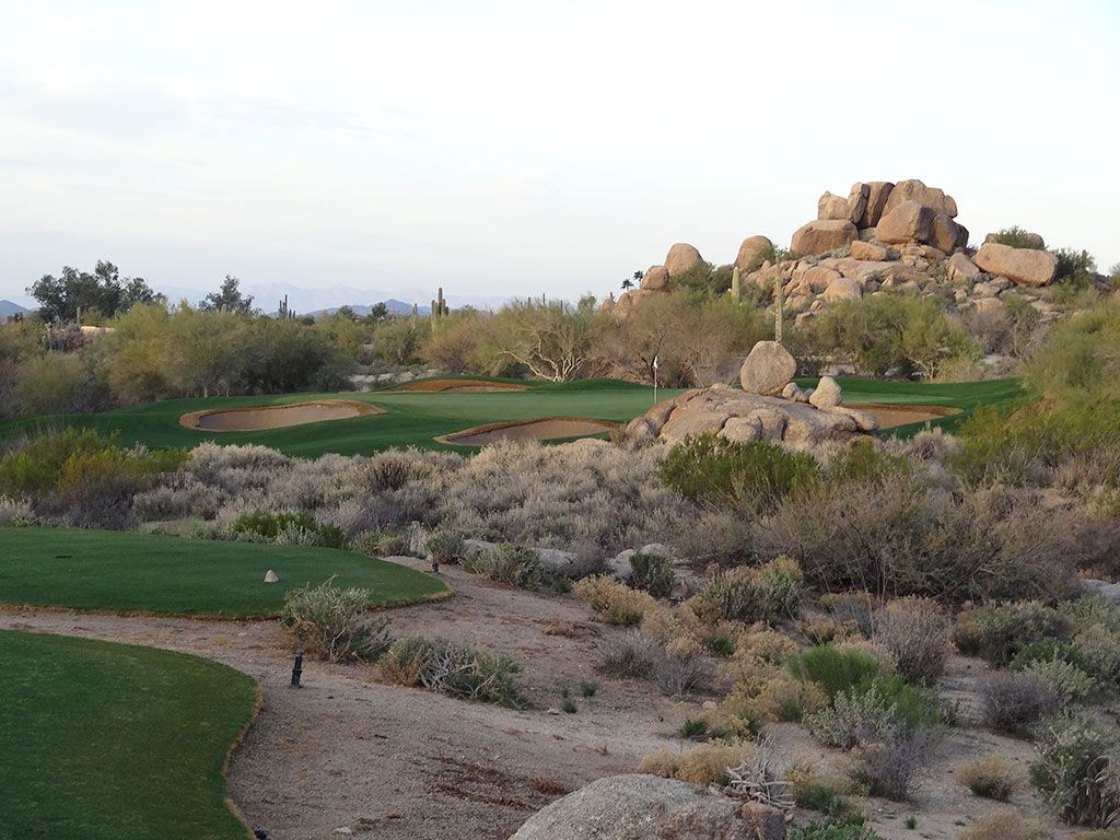 2nd Hole at The Boulders (South) (150 Yard Par 3)