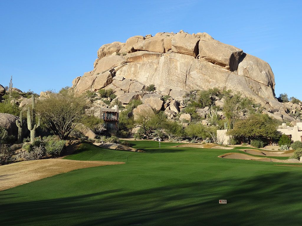 5th Hole at The Boulders (South) (545 Yard Par 5)