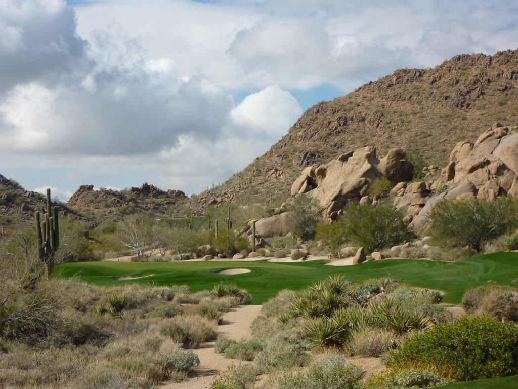 15th Hole at Desert Highlands Golf Club (146 Yard Par 3)