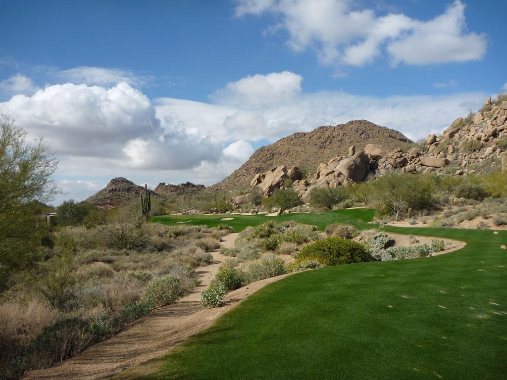15th Hole at Desert Highlands (146 Yard Par 3)