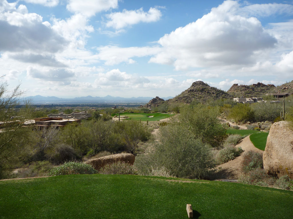 16th Hole at Desert Highlands Golf Club (242 Yard Par 3)
