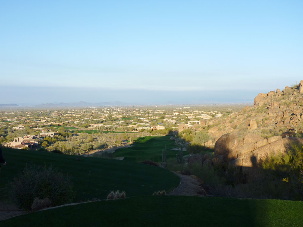 1st Hole at Desert Highlands Golf Club (350 Yard Par 4)