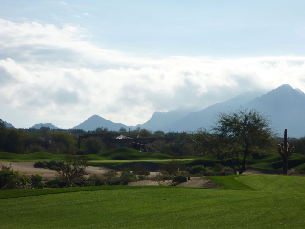 6th Hole at Desert Highlands Golf Club (428 Yard Par 4)