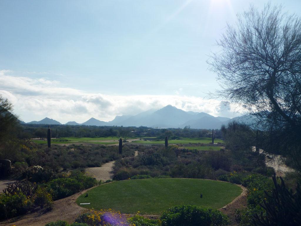 6th Hole at Desert Highlands Golf Club (428 Yard Par 4)