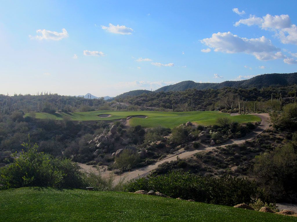 12th Hole at Desert Mountain (Chiricahua) (190 Yard Par 3)
