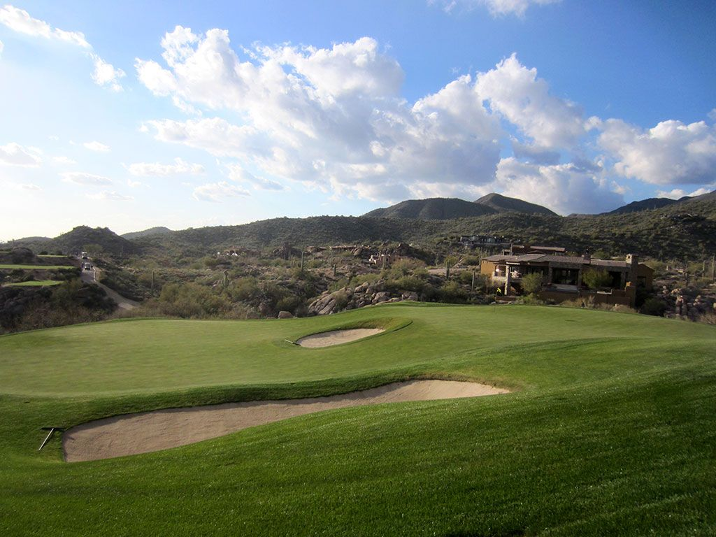 14th Hole at Desert Mountain (Chiricahua) (159 Yard Par 3)