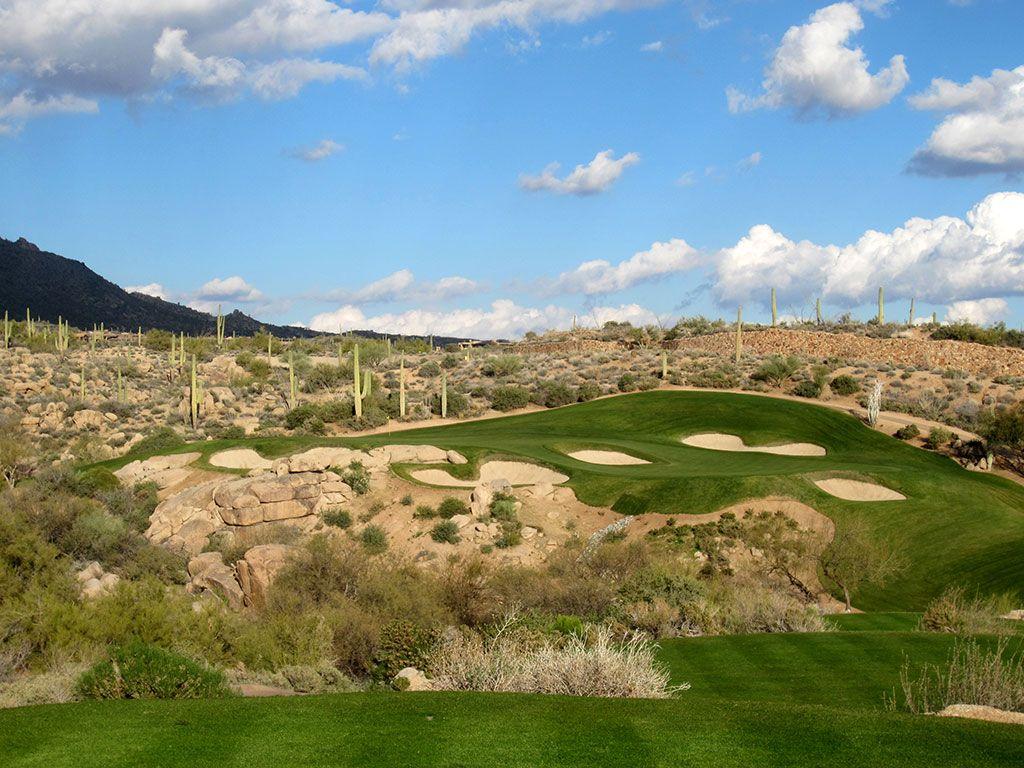 14th Hole at Desert Mountain Golf Club (Chiricahua) (159 Yard Par 3)