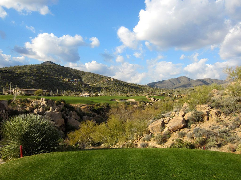 15th Hole at Desert Mountain (Chiricahua) (582 Yard Par 5)