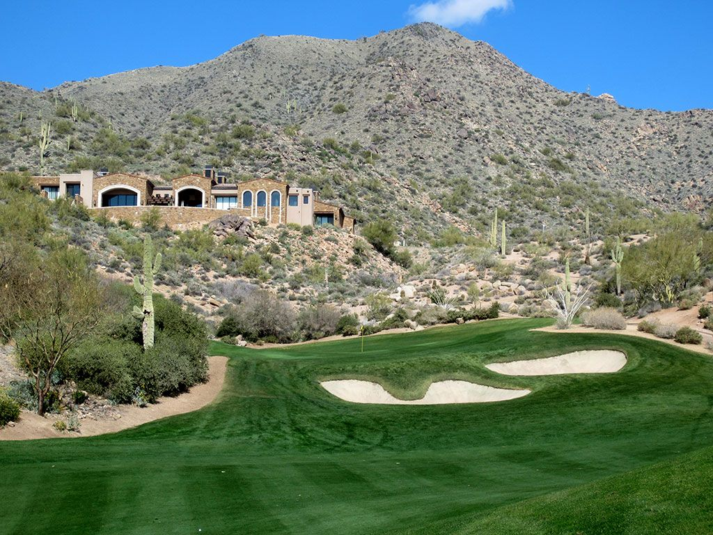 2nd Hole at Desert Mountain (Chiricahua) (287 Yard Par 4)