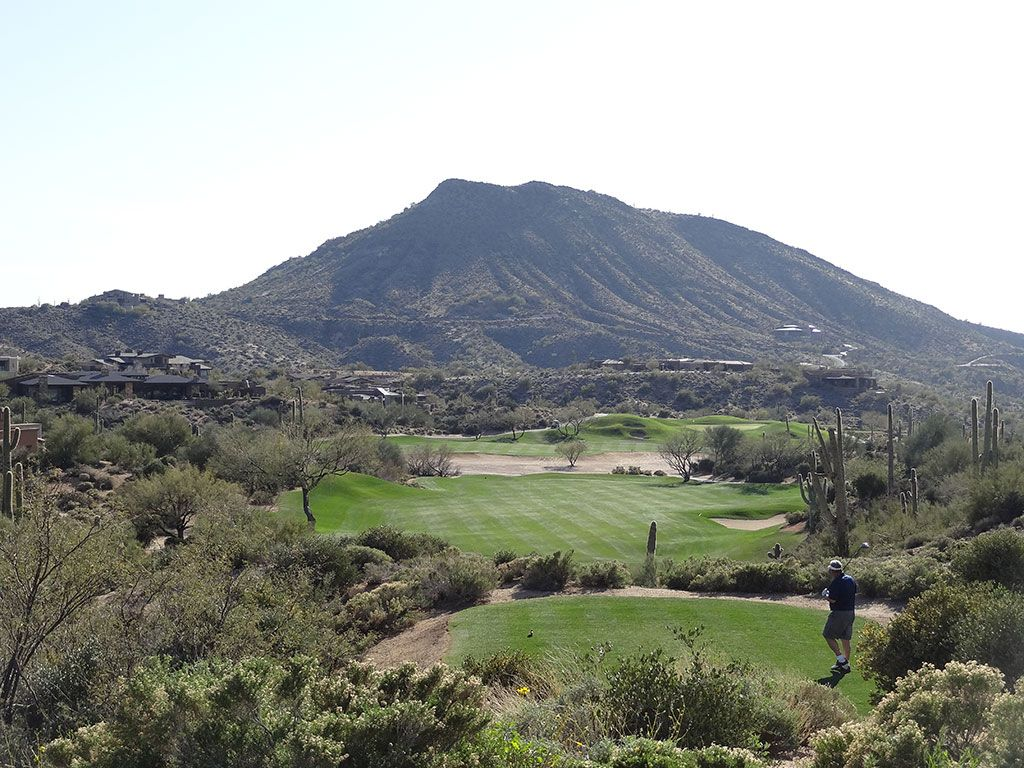 12th Hole at Desert Mountain Golf Club (Geronimo) (564 Yard Par 5)
