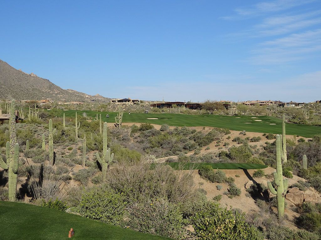 15th Hole at Desert Mountain (Geronimo) (510 Yard Par 5)