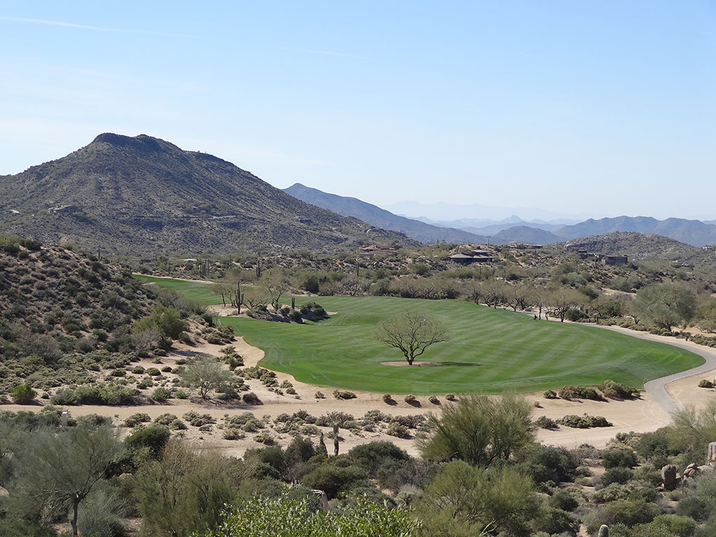 1st Hole at Desert Mountain (Geronimo) (582 Yard Par 5)