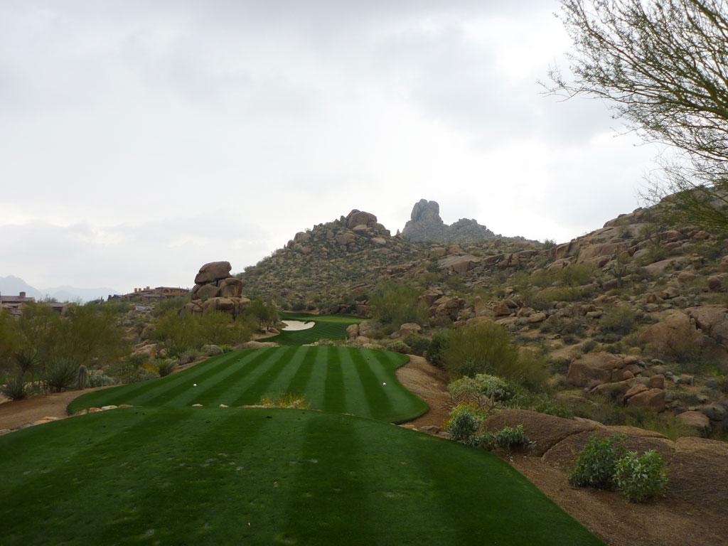 11th Hole at Estancia Golf Club (137 Yard Par 3)