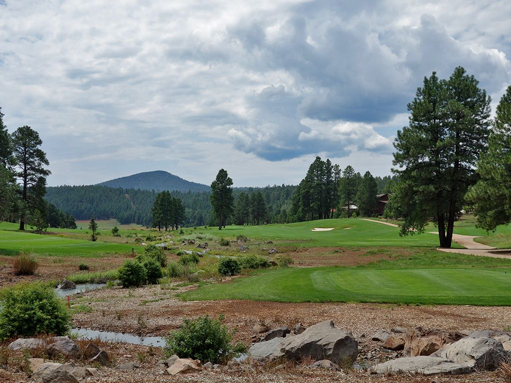 10th Hole at Flagstaff Ranch Golf Club (457 Yard Par 4)
