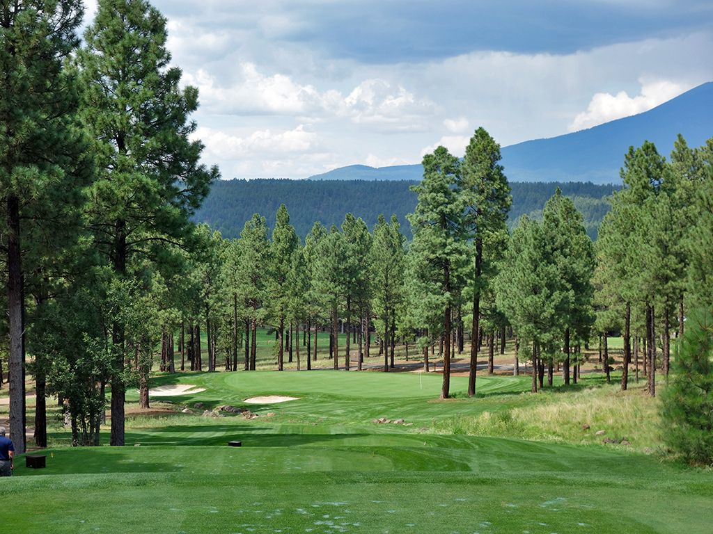 17th Hole at Flagstaff Ranch Golf Club (239 Yard Par 3)