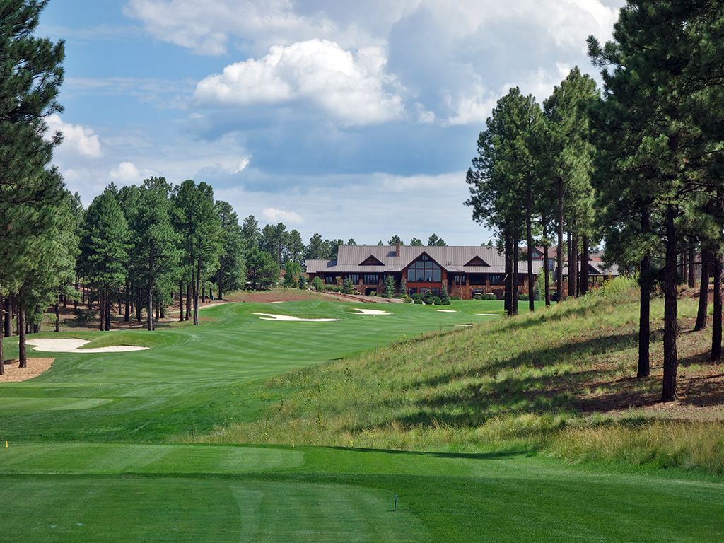 18th Hole at Flagstaff Ranch Golf Club (536 Yard Par 5)