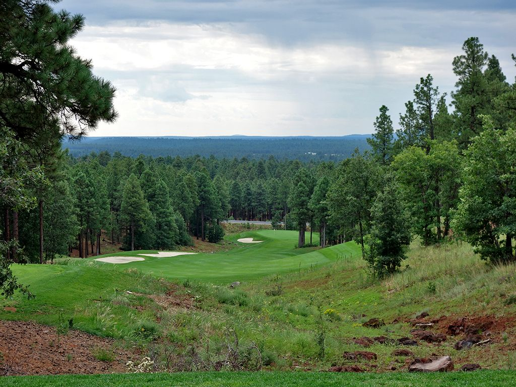 1st Hole at Flagstaff Ranch Golf Club (454 Yard Par 4)