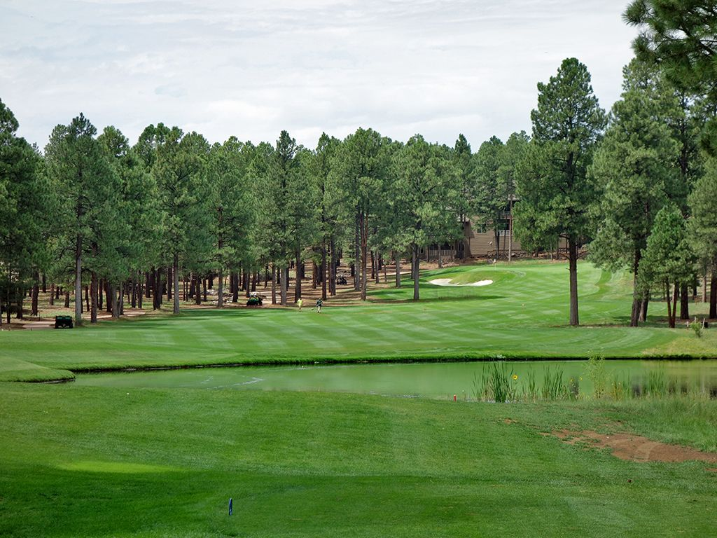 8th Hole at Flagstaff Ranch Golf Club (384 Yard Par 4)
