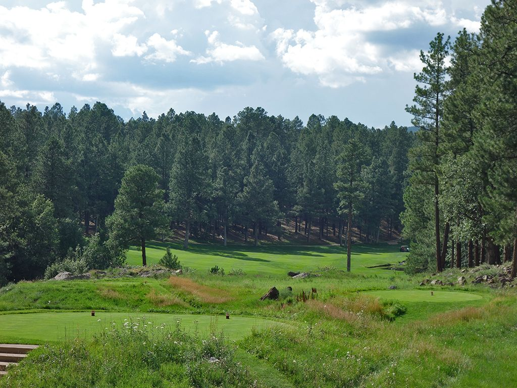 13th Hole at Forest Highlands Golf Club (Canyon) (542 Yard Par 5)