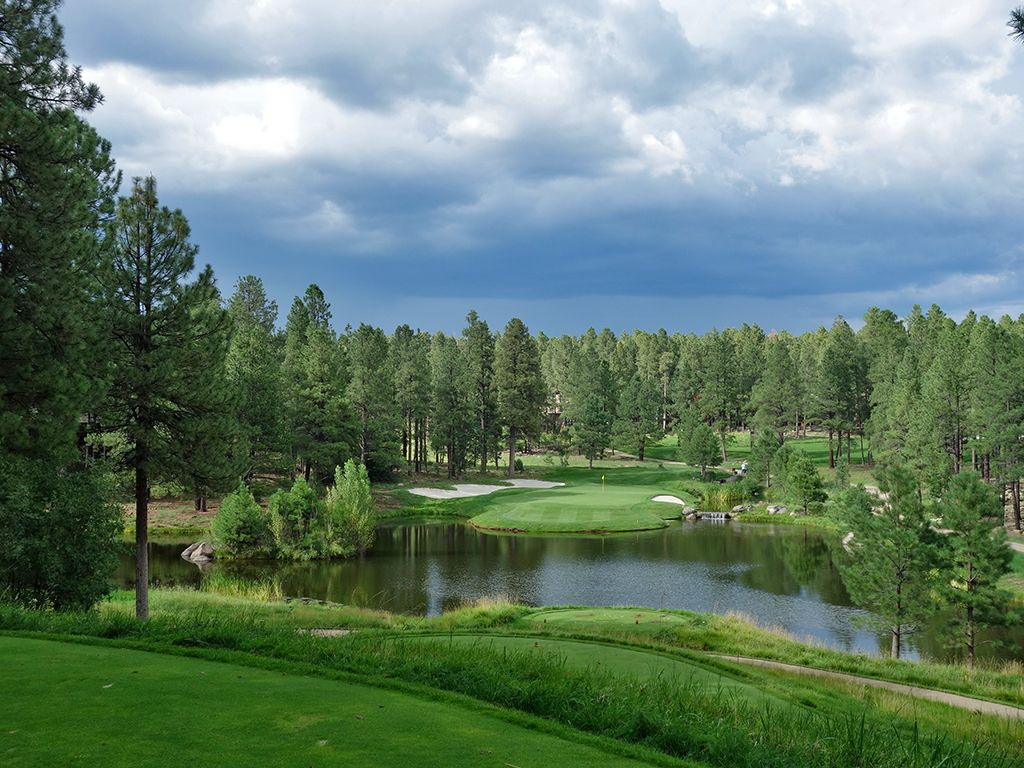 14th Hole at Forest Highlands Golf Club (Canyon) (165 Yard Par 3)
