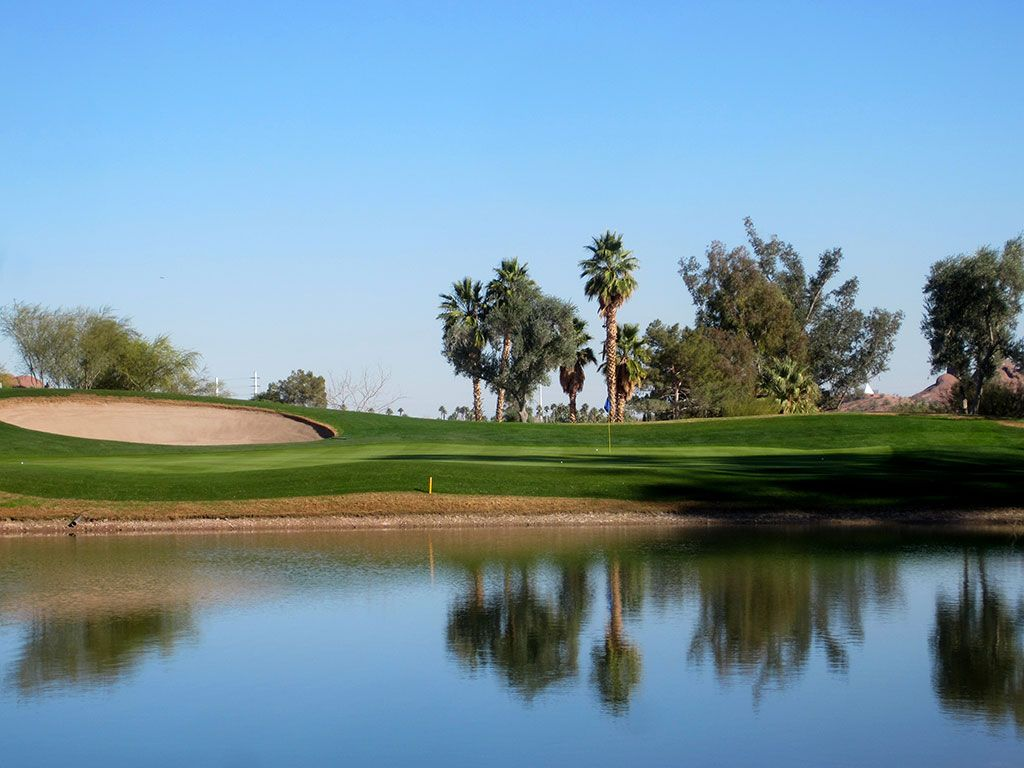 11th Hole at Papago Golf Course (187 Yard Par 3)