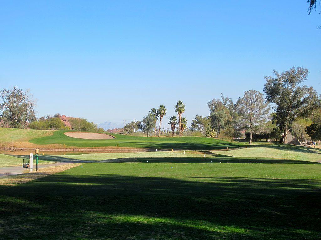 11th Hole at Papago Golf Course (187 Yard Par 3)