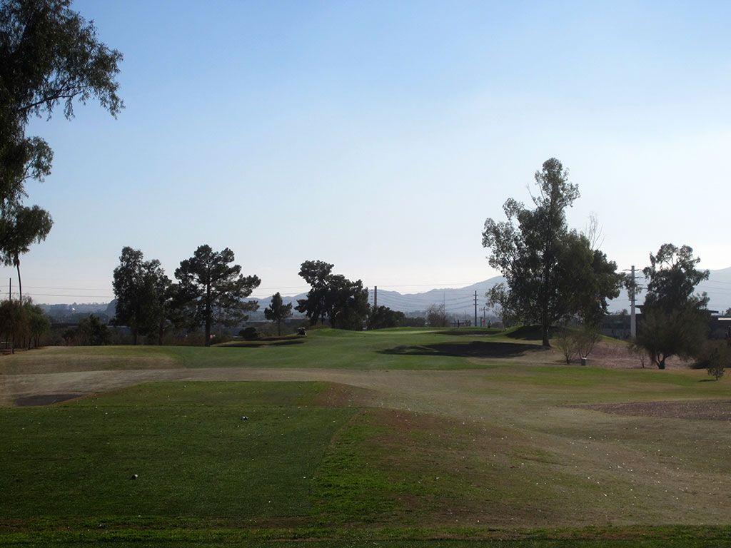 12th Hole at Papago Golf Course (322 Yard Par 4)