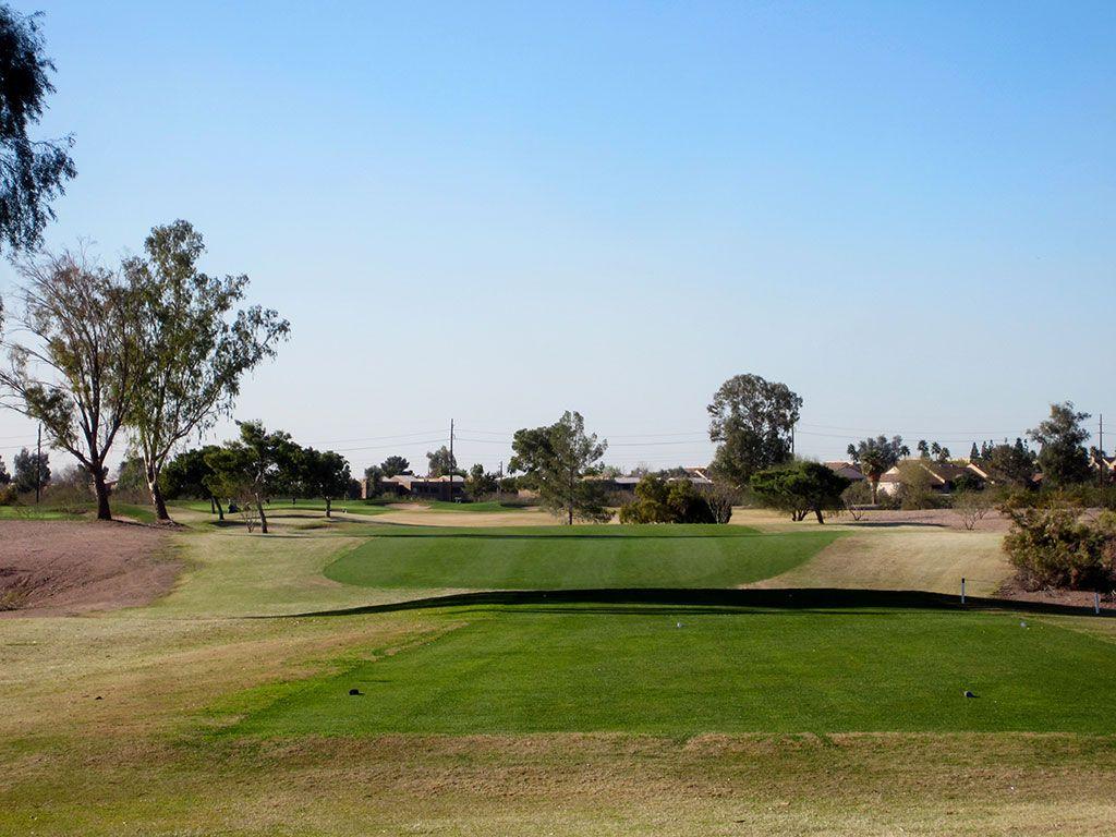 13th Hole at Papago Golf Course (402 Yard Par 4)