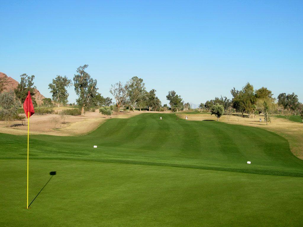 15th Hole at Papago Golf Course (585 Yard Par 5)