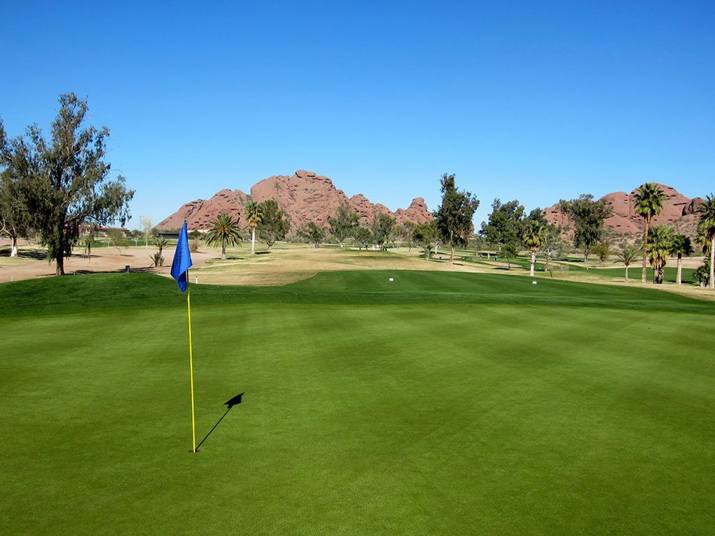 8th Hole at Papago Golf Course (253 Yard Par 3)