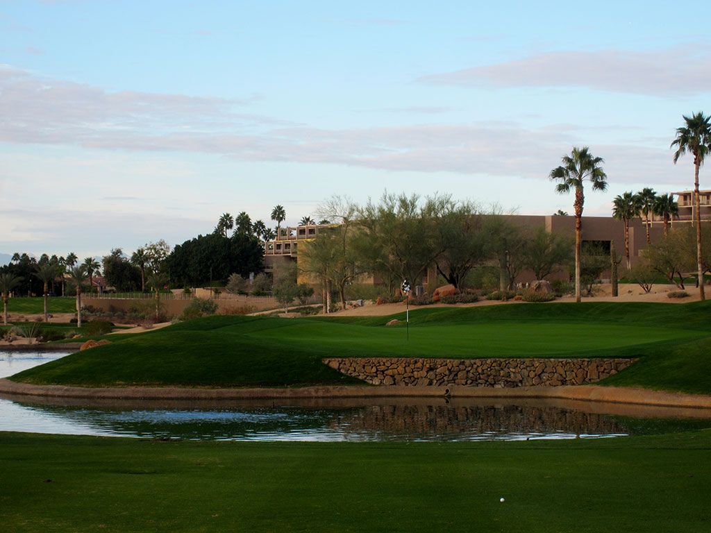 3rd (Desert) Hole at The Phoenician Resort (303 Yard Par 4)