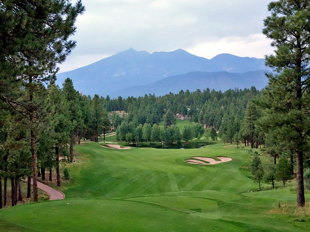 18th Hole at Pine Canyon Club (487 Yard Par 4)