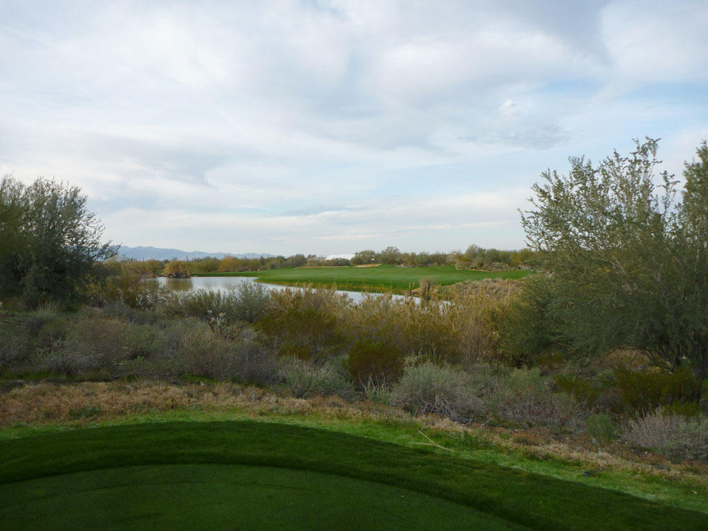 3rd Hole at Quintero Golf and Country Club (406 Yard Par 4)