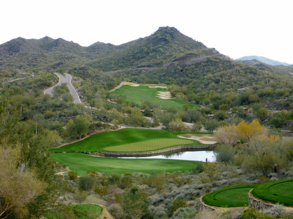 9th Hole at Quintero Golf Club