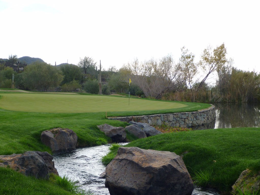 9th Hole at Quintero Golf and Country Club (212 Yard Par 3)