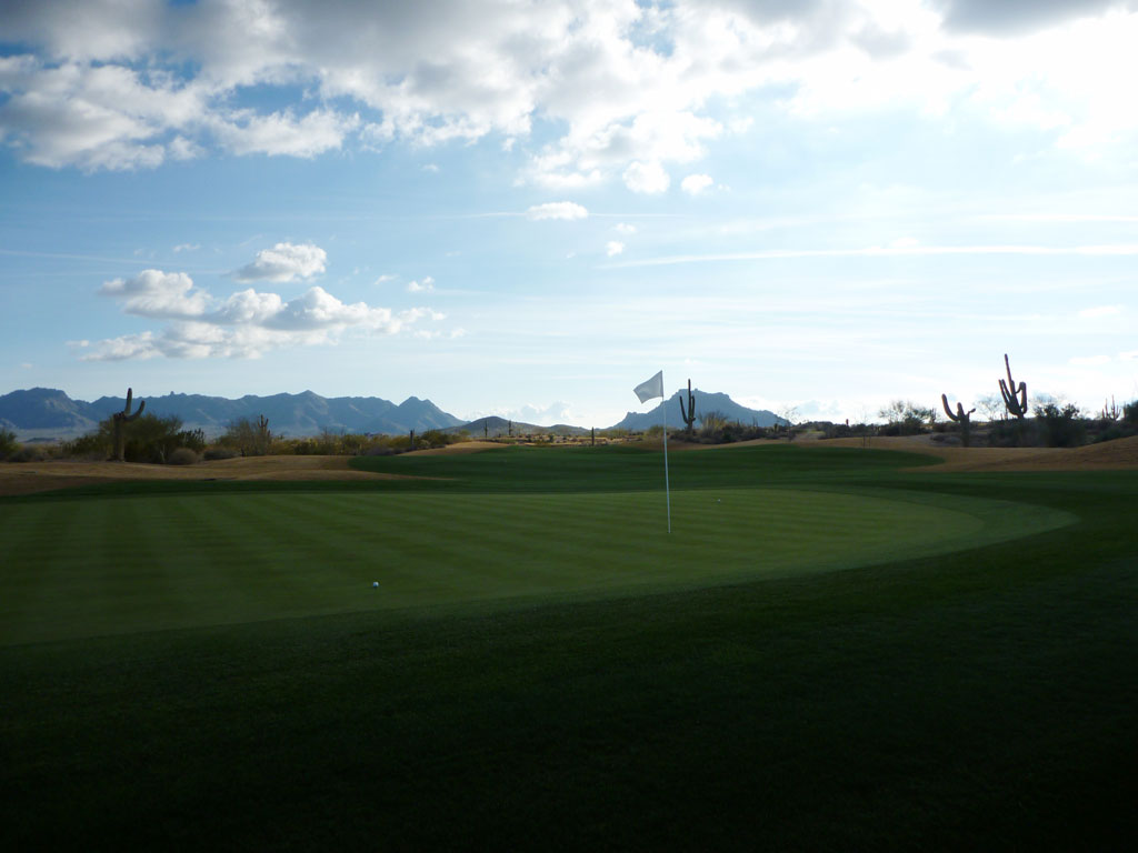 11th Hole at Scottsdale National (347 Yard Par 4)