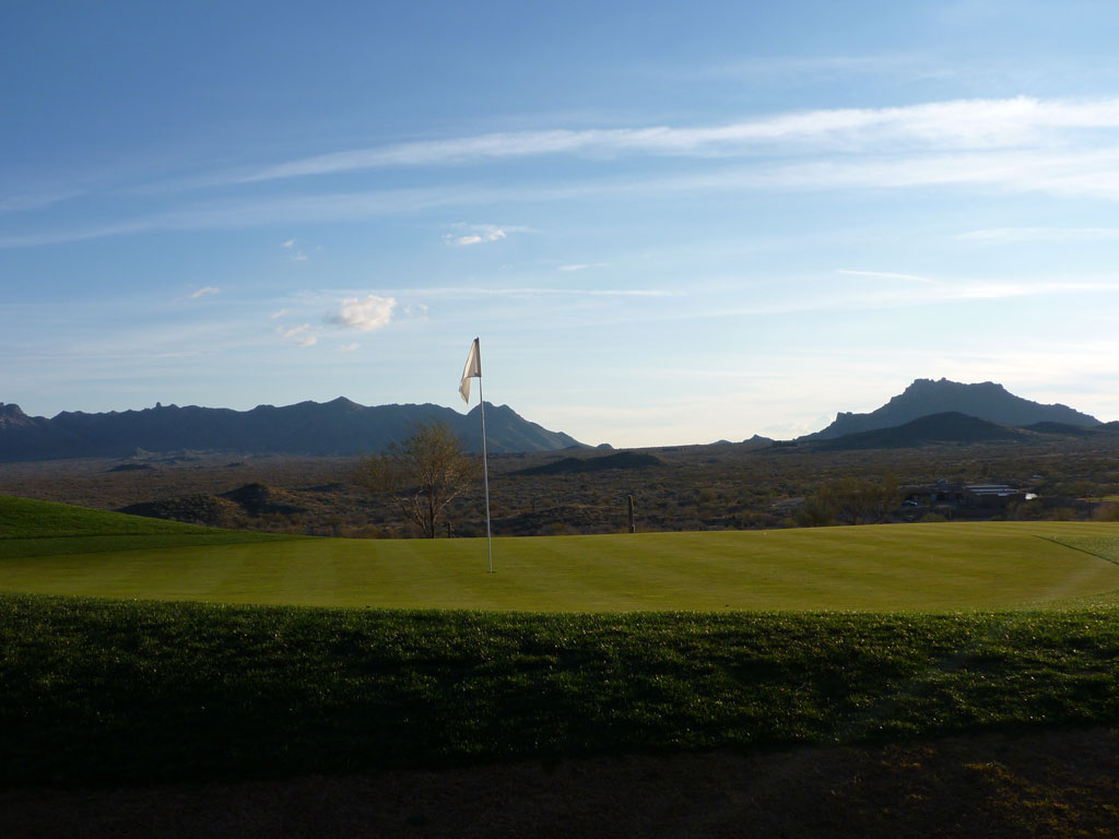 15th Hole at Scottsdale National (548 Yard Par 5)