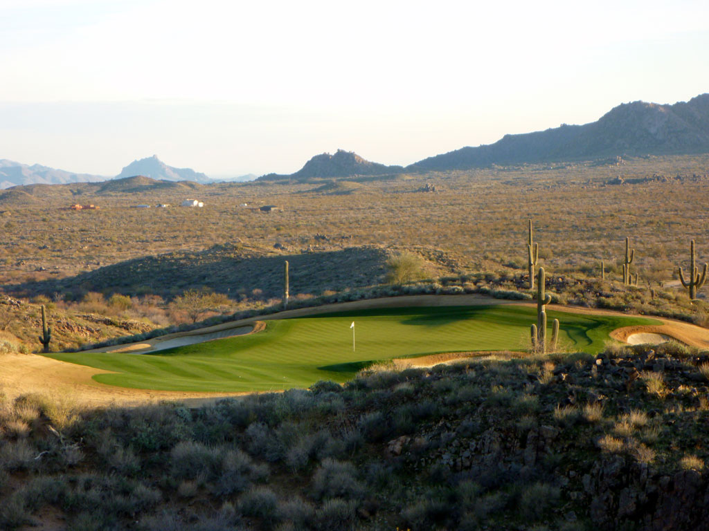 16th Hole at Scottsdale National (200 Yard Par 3)