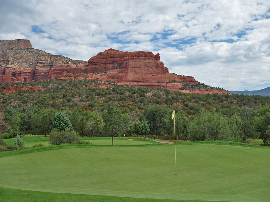 11th Hole at Seven Canyons Golf Club (346 Yard Par 4)