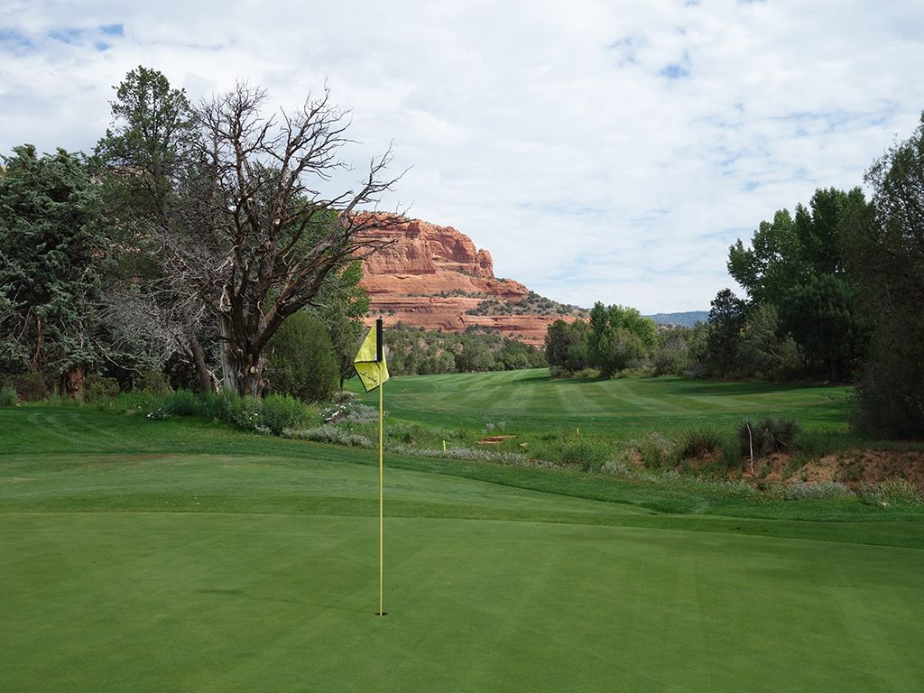15th Hole at Seven Canyons Golf Club (500 Yard Par 5)