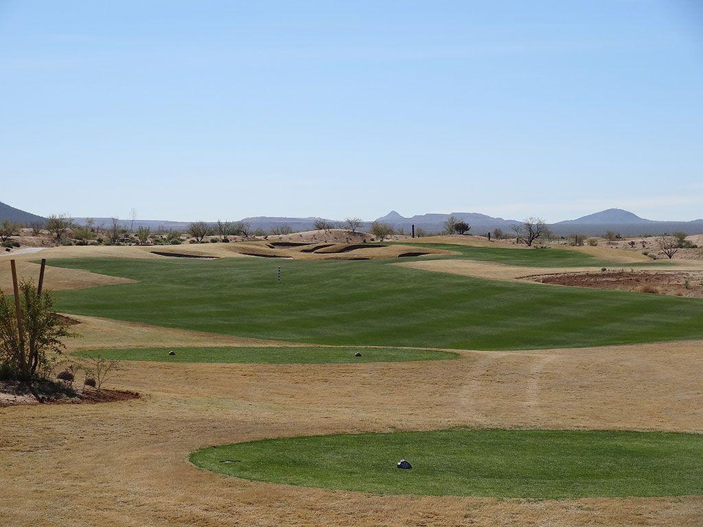 16th Hole at Sewailo Golf Club (328 Yard Par 4)