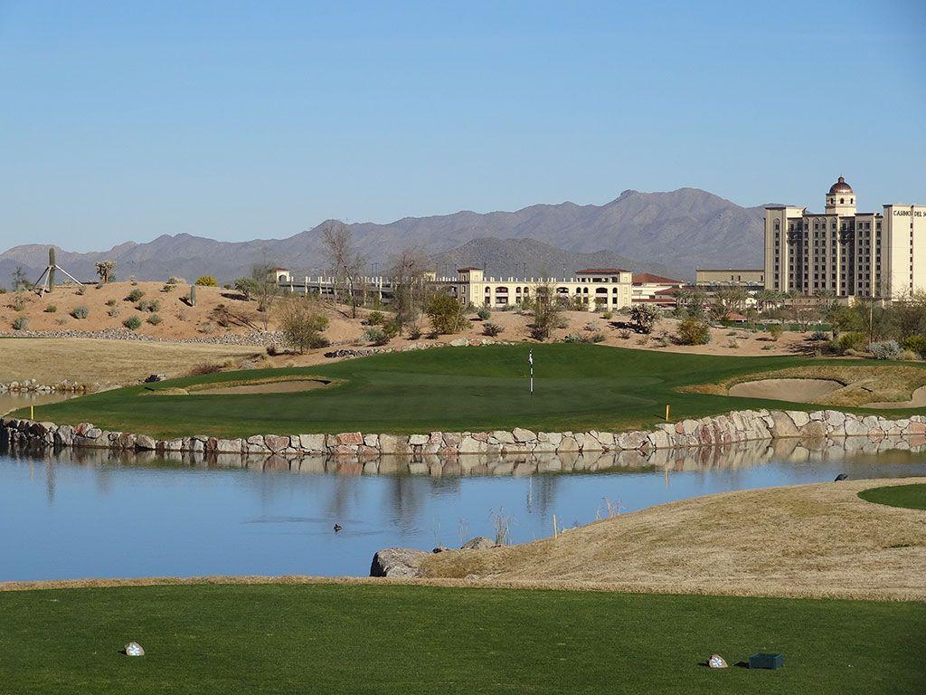 3rd Hole at Sewailo Golf Club (155 Yard Par 3)