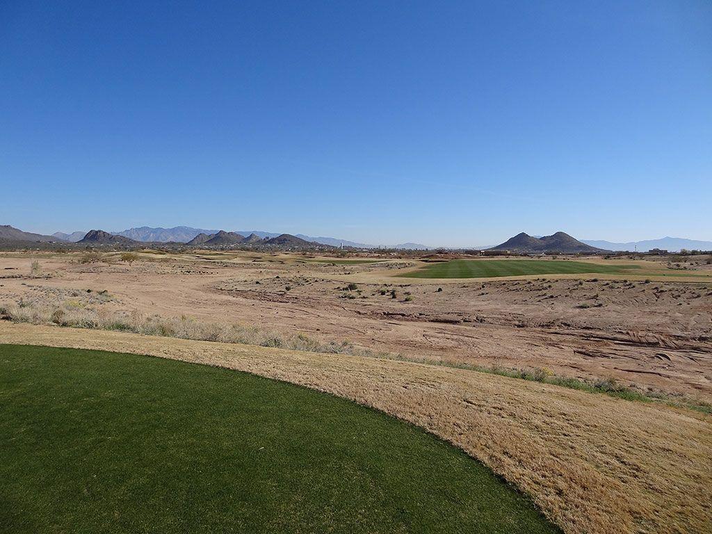 6th Hole at Sewailo Golf Club (548 Yard Par 5)