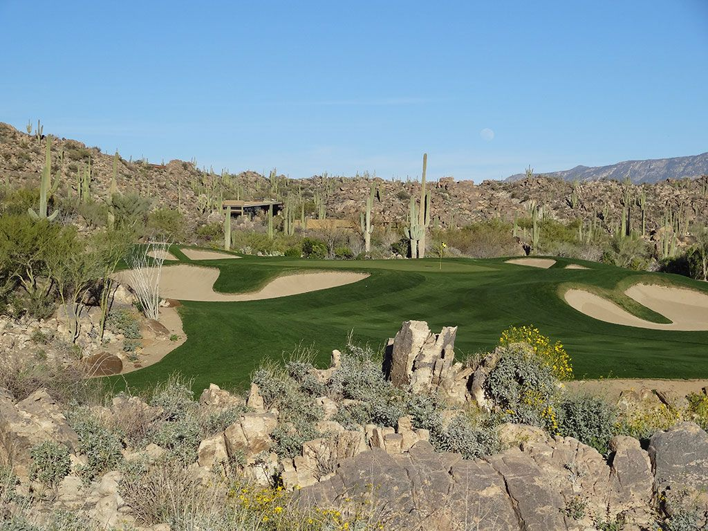 15th Hole at Stone Canyon Club (632 Yard Par 5)