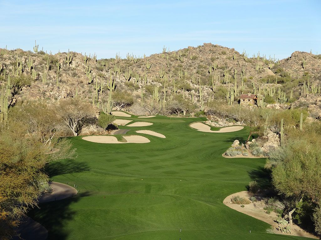 17th Hole at Stone Canyon Club (306 Yard Par 4)
